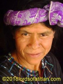 Head-wraps like this lady from Santa Cruz la Laguna wears have various names, but in Santa Cruz, they call them listones.