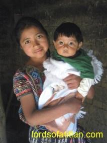 Sister and brother, San Jorge la Laguna