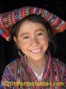 Girl with tzute, Patzutzún