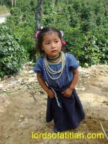 Little girl from Chutulul, San Antonio Palopó