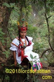 She is from San Luís Jilotepeque Jalapa  and therefore speaks poqomam. She als celebrates Luis, Rey de la Francia, August 25.