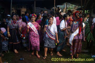 Baile social en Calahuaché, El Palmar, Quetzaltenango