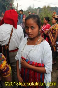 Cobanera who therefore speaks q´eqchi´. She also celebrates Santo Domingo, August 4.
