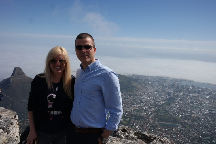 Another amazing view from the Table Mountain