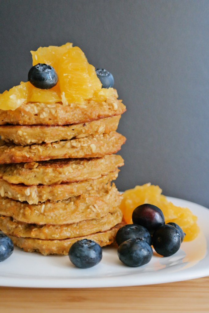 Oat and Carrot Pancakes