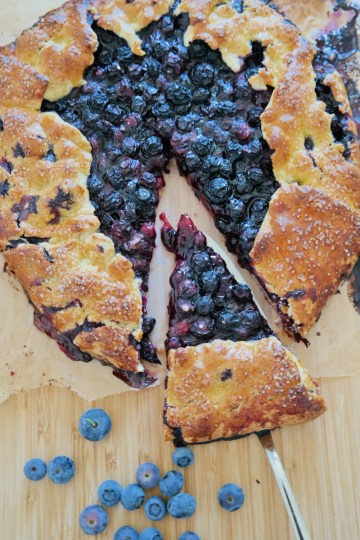 Blueberry galette recipe