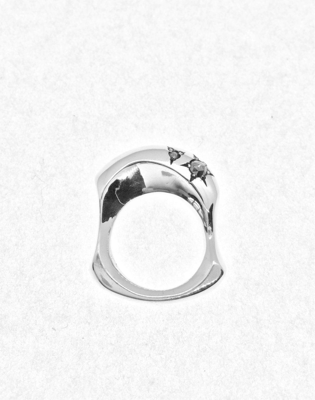 Trewyn Rose Cut Diamond Ring