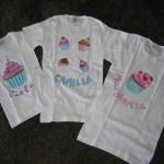 Magliette cupcakes