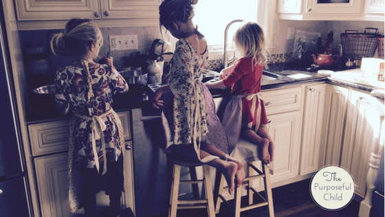 Develop Your Child S Independence In The Kitchen
