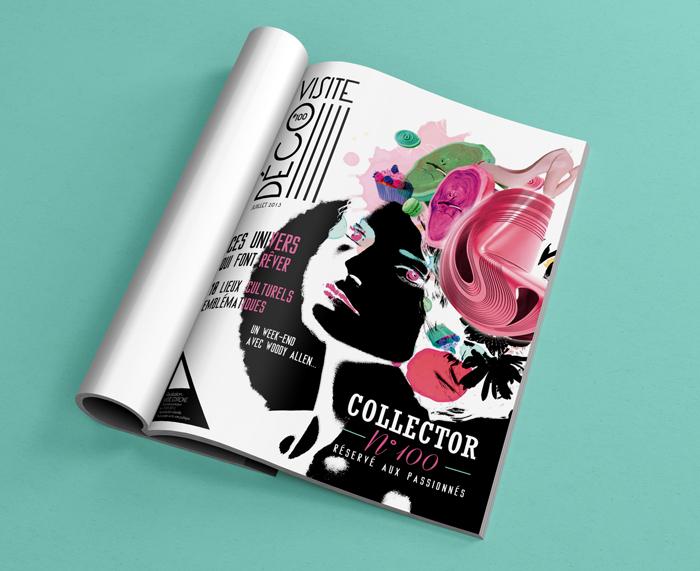 edition couverture de magazine