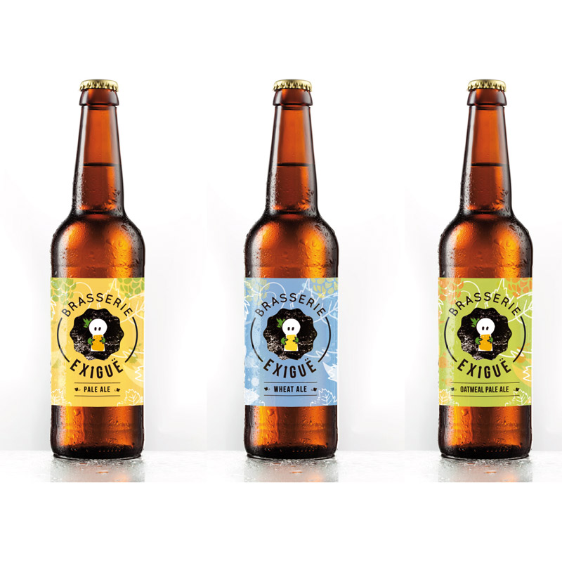 design packaging etiquettes de biere graphiques