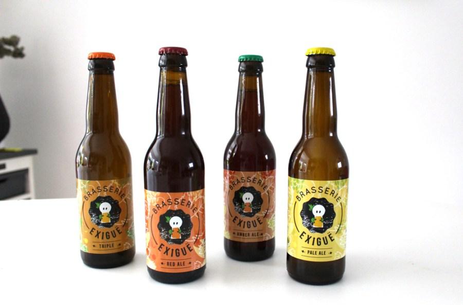 création de graphismes et illustrations pour des étiquettes de bière