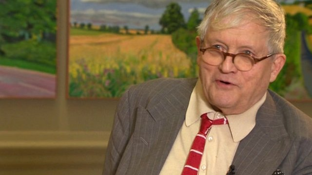 BBC News – David Hockney: Why art has become 'less'