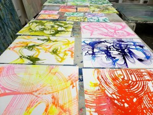 Lorene Anderson Works on paper