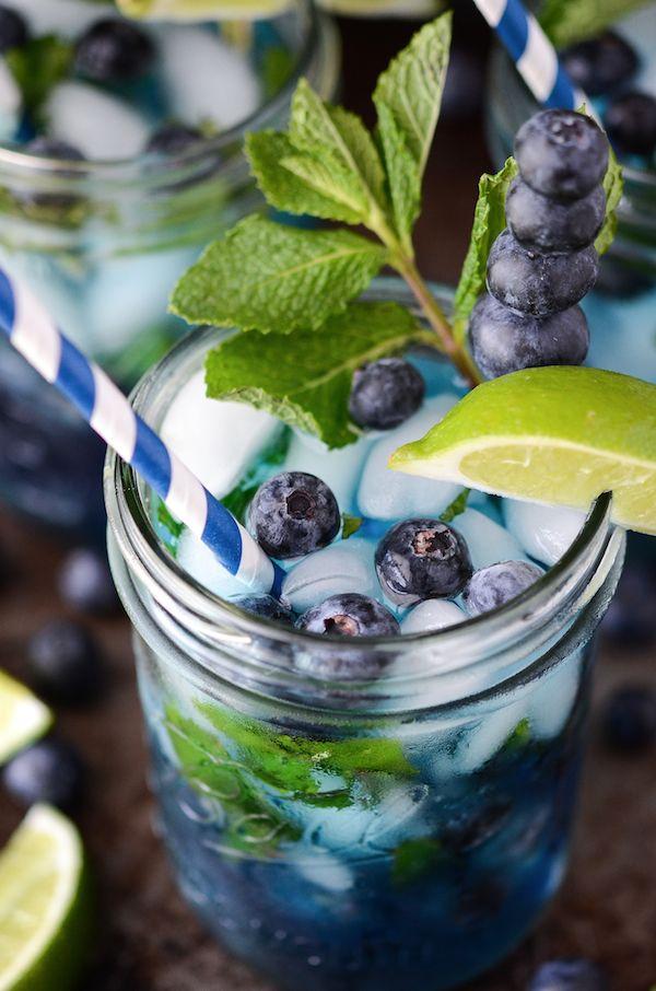 Blueberry Mojito