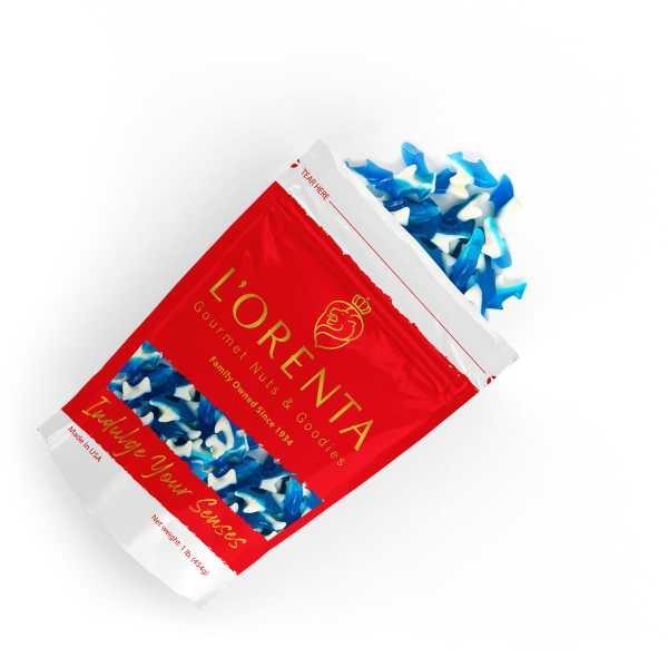 Blue-gummy-sharks-top-1-bag-www Lorentanuts Com