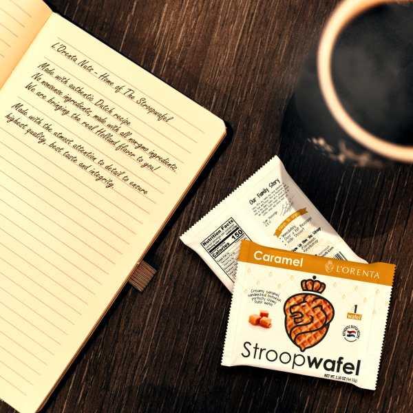 Caramel-stroopwafel-top-view-stroopwafel-www Lorentanuts Com Stroopwafel