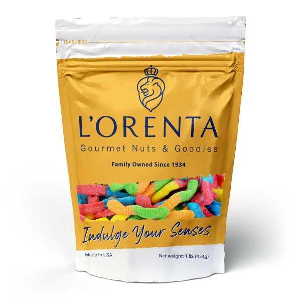 Sour-neon-worms-www Lorentanuts Com