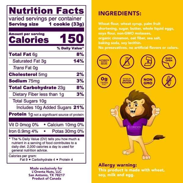 Stroopwafel-nutritional-value-stroopwafel-www Lorentanuts Com Stroopwafel