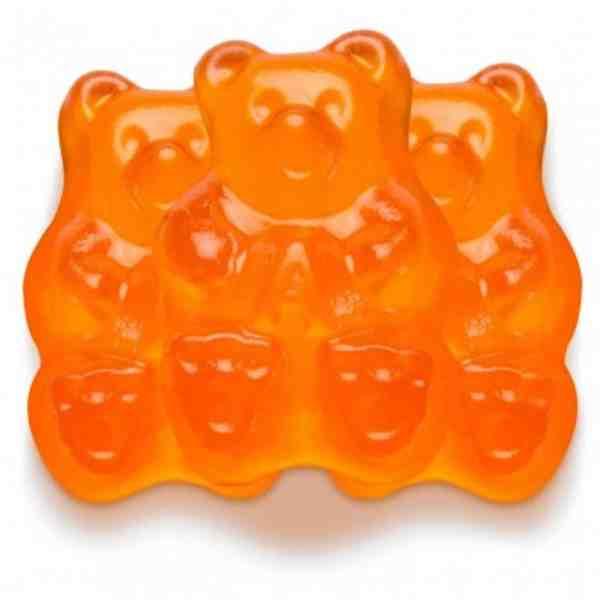 Orange-gummi-bears 2