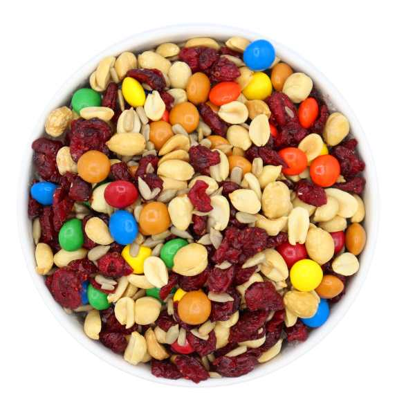 Gorp-trail-mix-bowl-www Lorentanuts Com Chocolate Trailmix