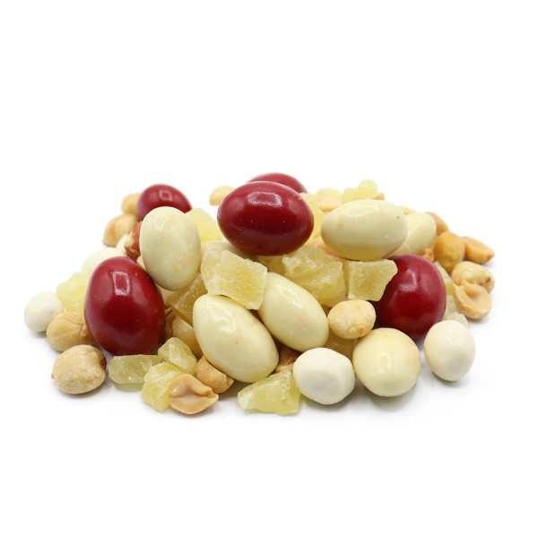 Pina-colada-trail-mix-perspective-www Lorentanuts Com Chocolate Trailmix