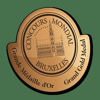 Concours Mondial de Bruxelles - Grand Gold Medal