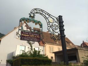 På besøg ved Jean-François Lipp i Alsace