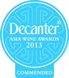Decanter Asia World Wine Awards 2013