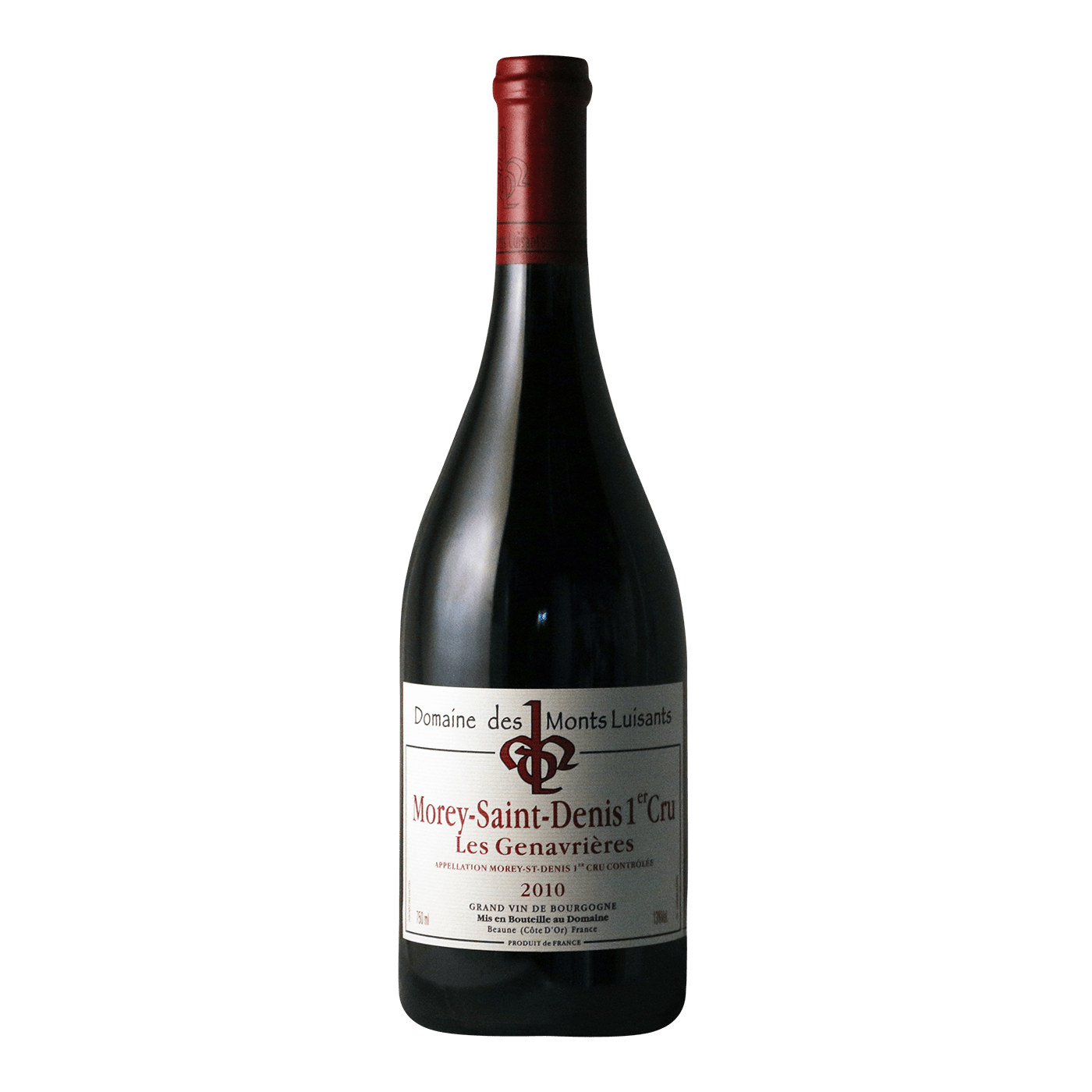 morey saint denis 1er cru les genavri res domaine des monts luisants 2010 lorentsens. Black Bedroom Furniture Sets. Home Design Ideas