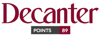 Decanter: 89 point