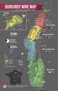 Bourgogne vinkort