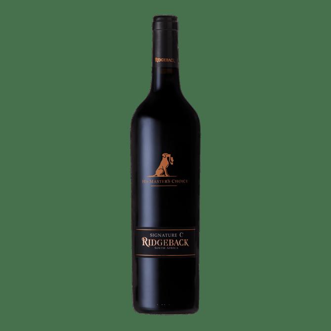"""Signature C """"His Master's Choice"""" Ridgeback Wines"""