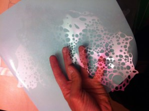 stencil complessi per effetti aerografia