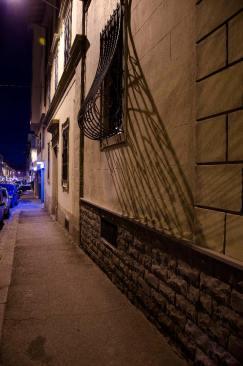 Vista di Firenze notturna