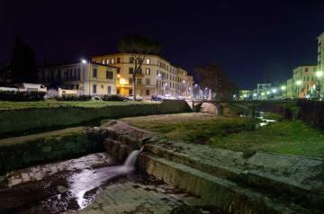 Torrente Mugnone, notte