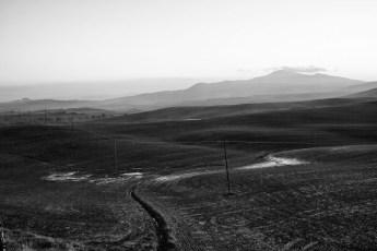 Paesaggio in Bianco e Nero