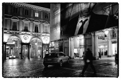 Torino notte in Bianco e Nero
