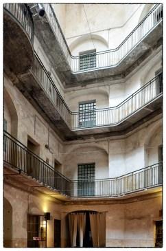 Ballatoi delle celle nell'ex carcere delle Murate a Firenze