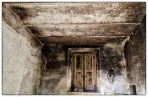 Soffitto a volte in una vecchia casa toscana