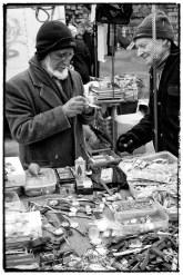 Venditore di orologi usati