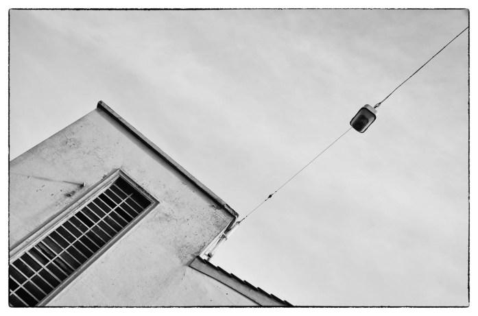 Cabina elettrica in una fabbrica a Prato