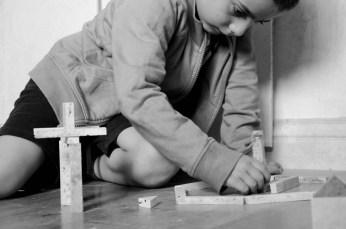 Pietra di Rapolano ed il gioco delle costruzioni