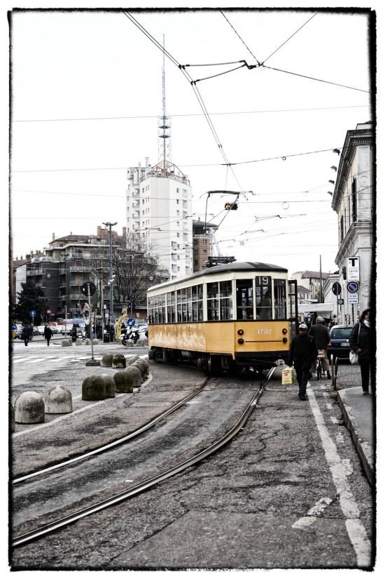 Tram Giallo a Milano