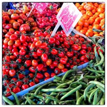 Piazza delle Cure, mercato