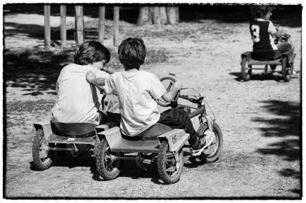 Corse con il grillo al Parco Ducale di Parma