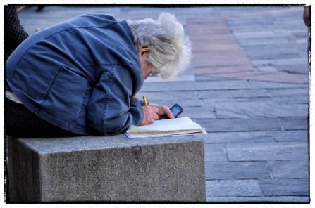 Piazza Corridoni a Parma - scrivendo per strada
