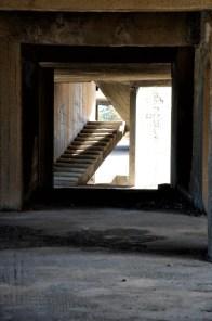 Edificio di cemento armato incompiuto