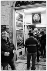 Il locale della Jinginha a LIsbona