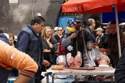 Mercato del pesce di Catania